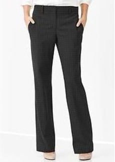 Checkered perfect trouser pants