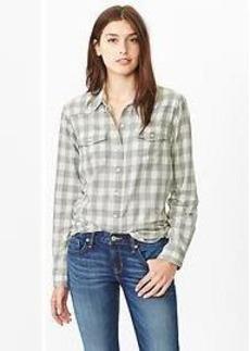 Checkered western shirt