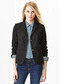 Classic pique blazer