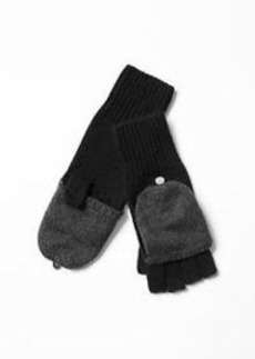 Convertible wool mittens