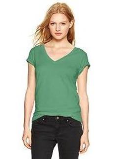 Essential short-sleeve V-neck tee
