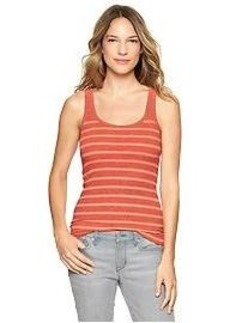 Essential stripe rib tank