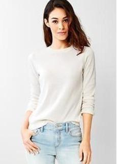 Faded crew sweater