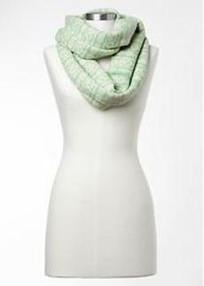 Fair isle cowl scarf