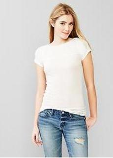 Featherweight seamed tee