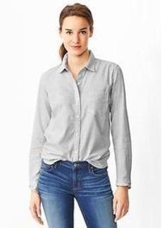 Fitted boyfriend shirt