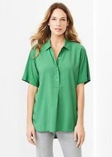 Fluid drapey shirt