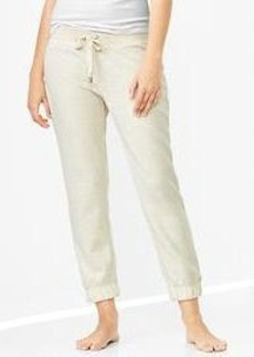 French terry slim lounge pants