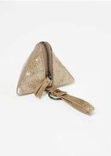 Glitter triangle coin purse