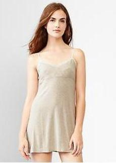 Heathered modal nightie