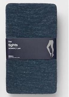 Heathered sweater tights