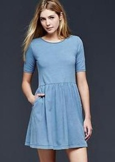 Indigo t-shirt dress
