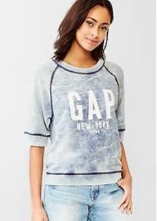 Logo faded sweatshirt