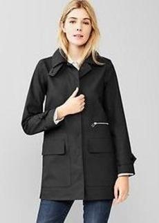 Long mac coat