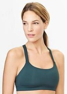 Low impact kissing-back sports bra