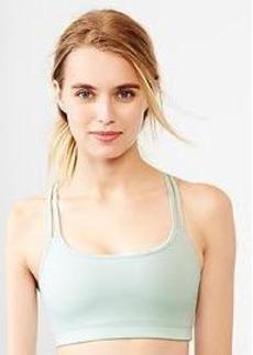 Low impact reversible sports bra