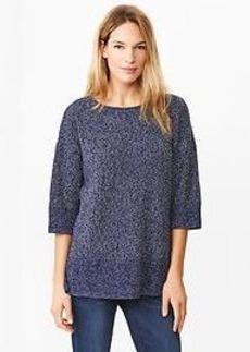 Marled oversize sweater