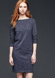 Marled shift dress