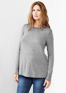 Merino A-line sweater