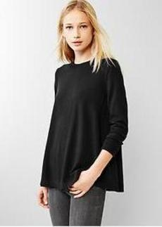 Merino A-line sweater