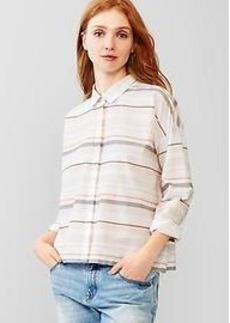 Mix-stripe shirt