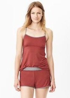 Modal cross-back cami