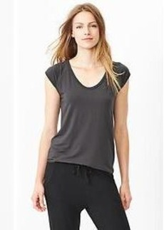 Modal scoop-neck tee