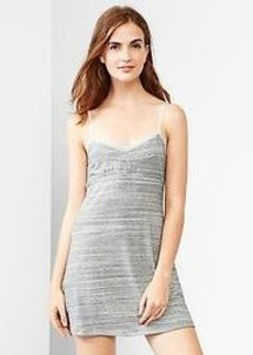 Modal stripe nightie