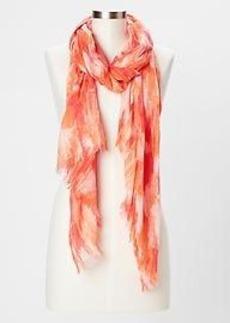 Painterly scarf