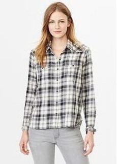 Plaid western shirt