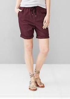 Poplin board shorts