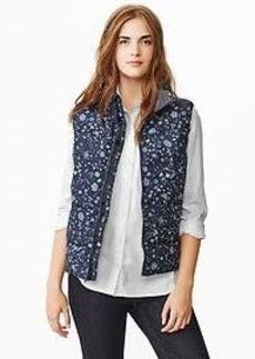 PrimaLoft&#174 Luxe floral puffer vest