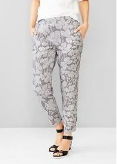Printed Tencel&#174 jogger pants