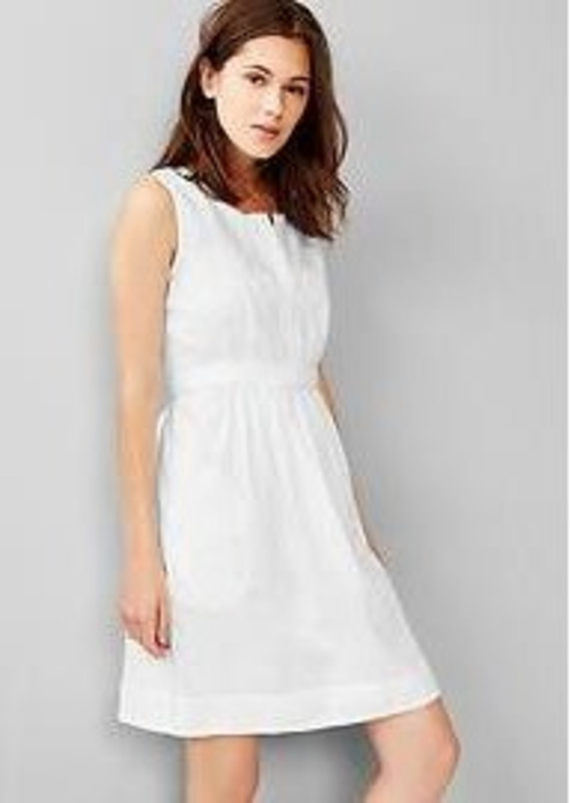 Gap ramie embroidered shirtdress dresses shop it to me