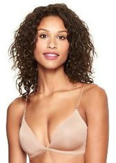 Satin partial wire bra