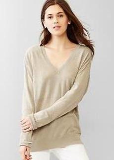 Shadow-stripe sweater