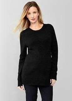 Shimmer crewneck sweater
