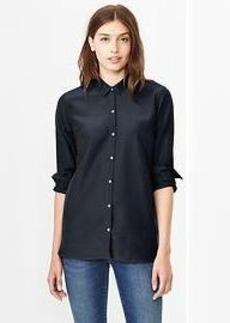 Silk cotton shirt
