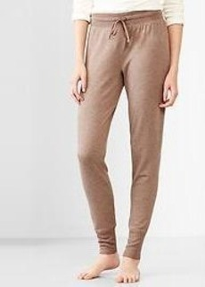 Slim fleece pants