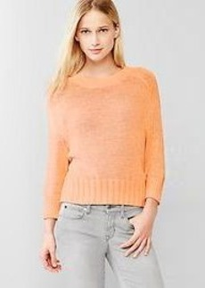 Slouchy dolman-sleeve sweater