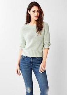 Slouchy dolman-sleeve sweater
