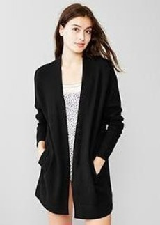 Softest open-front cardigan