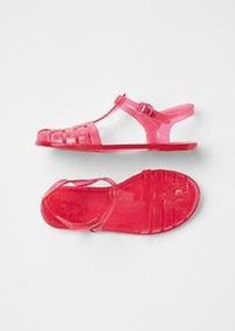 gap sparkle woven jelly sandals shoes shop it to me
