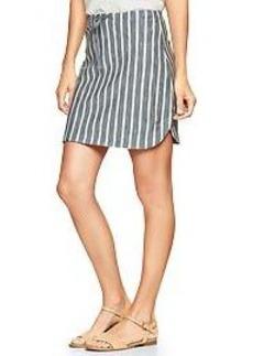 Stripe dolphin skirt