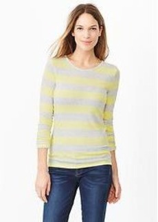 Stripe long-sleeve tee