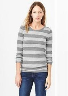 Stripe long-sleeve tee