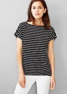 Stripe relaxed tee