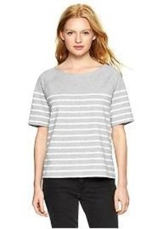 Stripe sweatshirt top