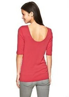 Supersoft ballet-back tee