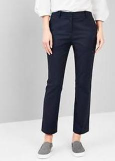 Tailored crop pants